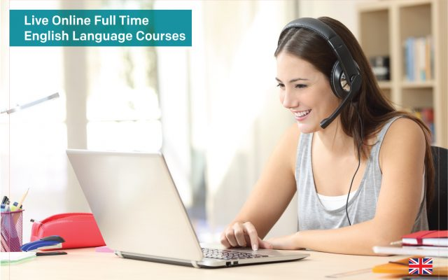 Live Online Full Time English Language Courses