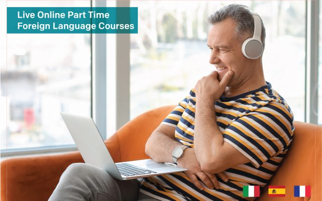 Live Online Part Time Foreign Language Courses