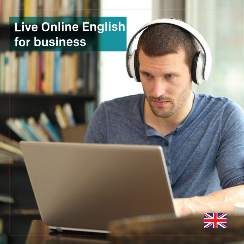 Live Online English for business