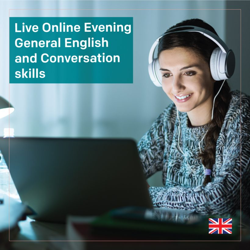 Live Online Evening General English and Conversation skills