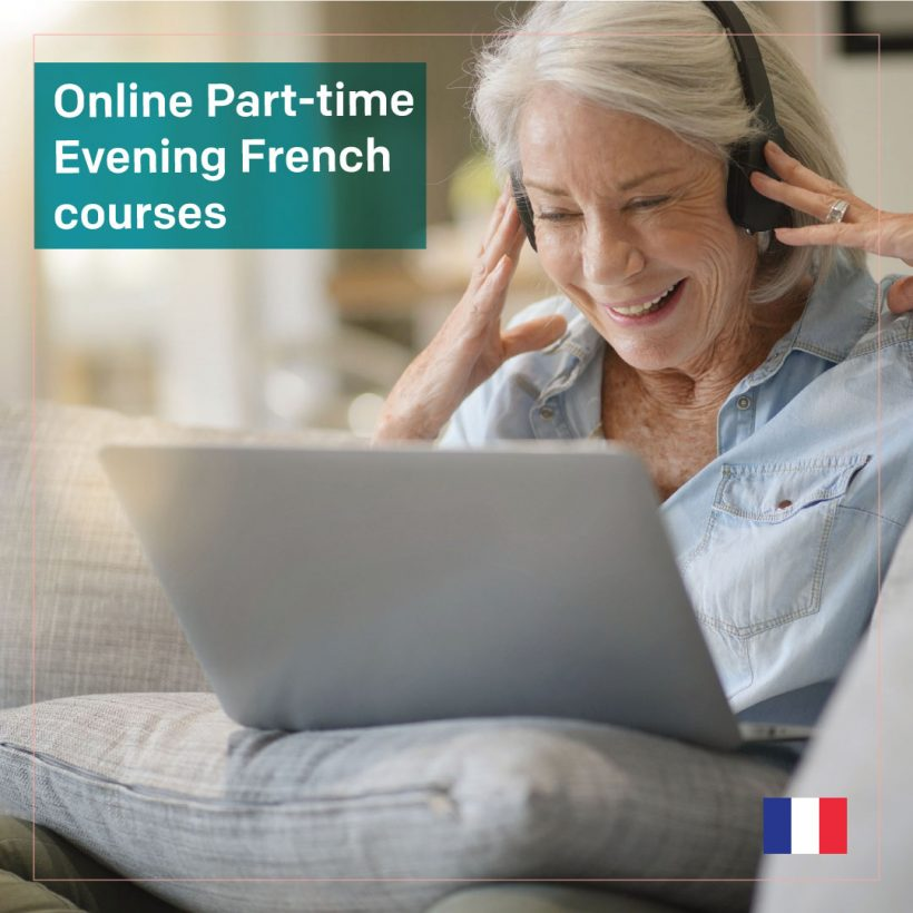 Live Online Part-time Evening French courses