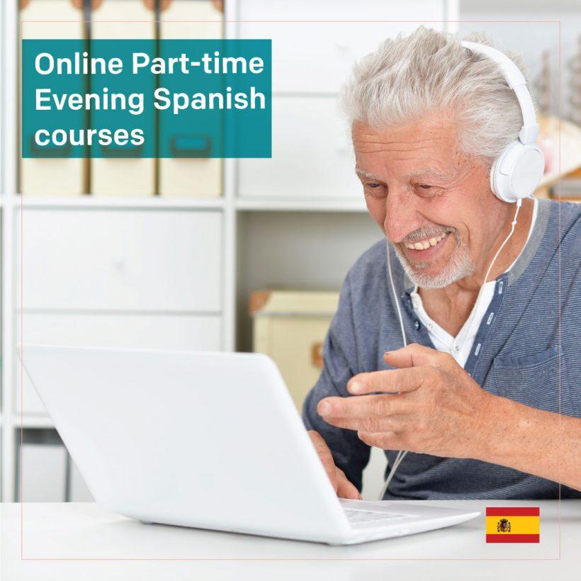 Live Online Part-time Evening Spanish courses